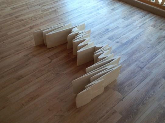 Piero Chiariello, tentativo per una scultura matematica