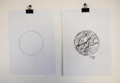 Raffaella Romano, disegni degli osservatori