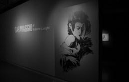 Roberto Longhi, Ragazzo-morso da un ramarro dal dipinto del Caravaggio, Firenze Fondazione di Studi di Storia dell'arte, Roberto Longhi-1930-carboncino-su-carta-bianca