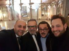 Nicola Pedana, Michele Buonomo, Andrea Viliani, Paolo Bini