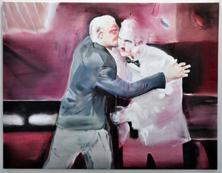 Davide Serpetti, The Kiss, 2016. Giuseppe Pero, Milano. ArteFiera 2017