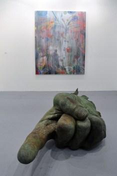John Isaacs, Yesterday, today, tomorrow, 2016. Galleria Poggiali, Firenze. ArteFiera 2017
