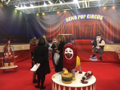 Francesco De Molfetta, Demo Pop Circus, Galleria il Mappamondo Milano