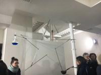 Gilberto Zorio, galleria de' foscherari, Bologna 28 gennaio 2017