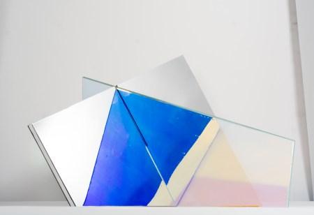 Matteo Negri, Piano Piano, 2016, 165x260x230, ferro, cromo liquido e vetro