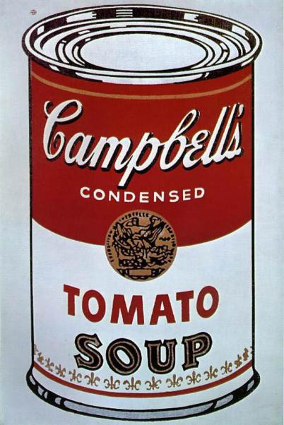 Andy Warhol, Campbell's Soup, 1962