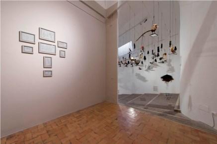 Annette Messager, Messaggera_Villa Medici_2017_installation view. Ph Giorgio Benni.