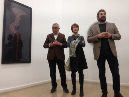 Roberto Gramiccia, Lucilla Catania e Alberto Dambruoso - I Martedì Critici in mostra