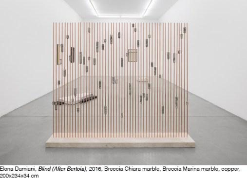 Elena Damiani, Blind (After Bertoia), 2018, Galleria Francesca Minini