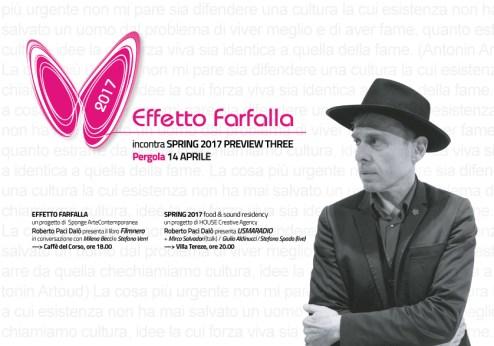 Effetto Farfalla 2017 - Roberto Paci Dalò