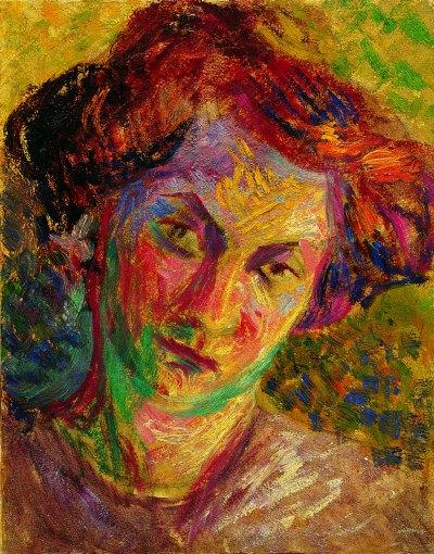 Umberto Boccioni Ritratto di donna 1909 -1910 ca. Olio su tela 21 x 24 cm Palazzo Ricci, Fondazione Cassa di Risparmio di Macerata