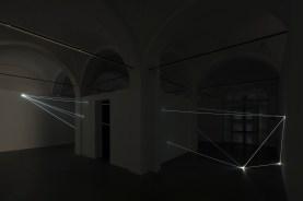 Carlo Bernardini, Oltrelimite, 2017, fibra ottica. Carlo Bernardini, Oltrelimite, 2017, fibra ottica. Foto Roberto Marossi (1)