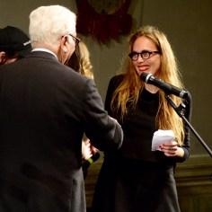Susanne Pfeffer curatrice del padiglione Germania vincitore del Leone d'oro.