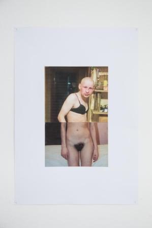 Eva Hide, Veronica,collage,2017, cm35x50