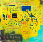 Jean-Michel Basquiat, Hollywood Africans, 1983, Whitney Museum of American Art, ARS, New York, ADAGP, Pa © The Estate of Jean - Michel Basquiat, Licensed by Artestar, New York