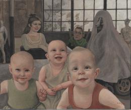 Domenico Ventura, I tre bambini