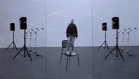 Michele Attianese, Heimat _olio su legno_225x128cm2017