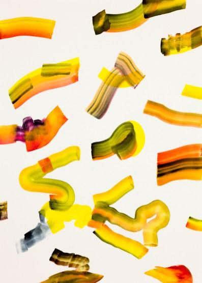 Isabella Nazzarri, Fresco frizzante estivo (Ultima estate), 2017, 50x70cm, acquerello su carta
