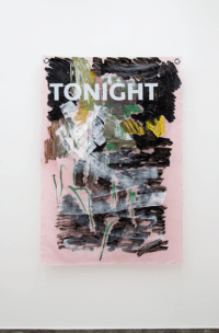 Massimo Stenta, TONIGHT, acrilico su poliestere, 178x119 cm, 2017