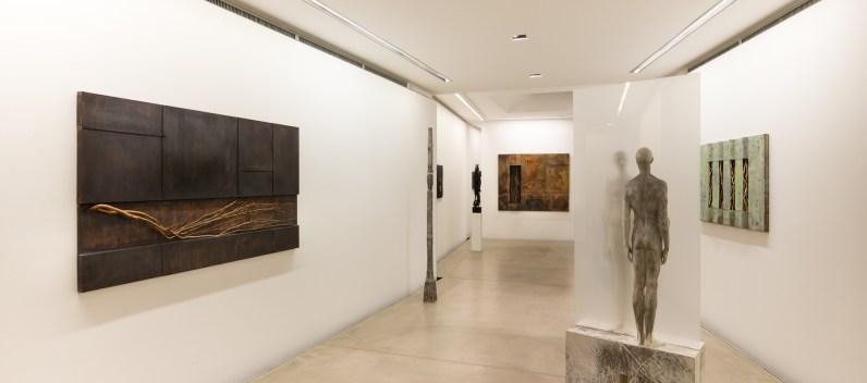 Hermann J. Runggaldier, ZwischenKörper, 2018 Antonella Cattani contemporary art DSC_1027-2