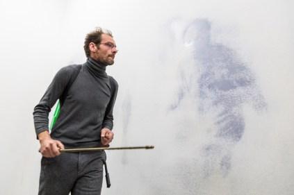 Matteo Montani, Unfolding, Galleria Nicola Pedana, 2017-2018