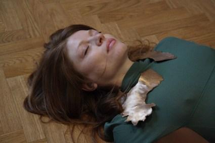 "Jassica Japino, ""SSS"" - STIVALE, SARDEGNA, SICILIA performance:gioiello-scultura 2018,bronzo, dimensioni variabili"