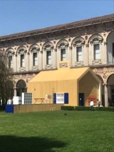 Cortile d'Onore Università Statale di Milano