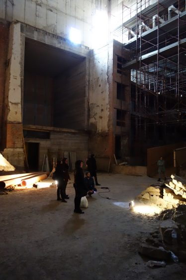 """intrepida"" workshop, collective performance and installation - Production: GAER - MDA - Geco - Regione Emilia Romagna"