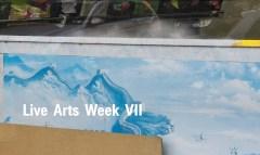 Live Arts Week VII Arwork by Invernomuto and Filippo Nicolini