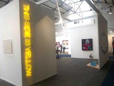 Maurizio Nannucci, This Side is yellow 1969, Galleria Enrico Astuni, Bologna