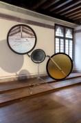 Soer, stampa su tela hanemuhle, diametro 100, 100, 50 cm