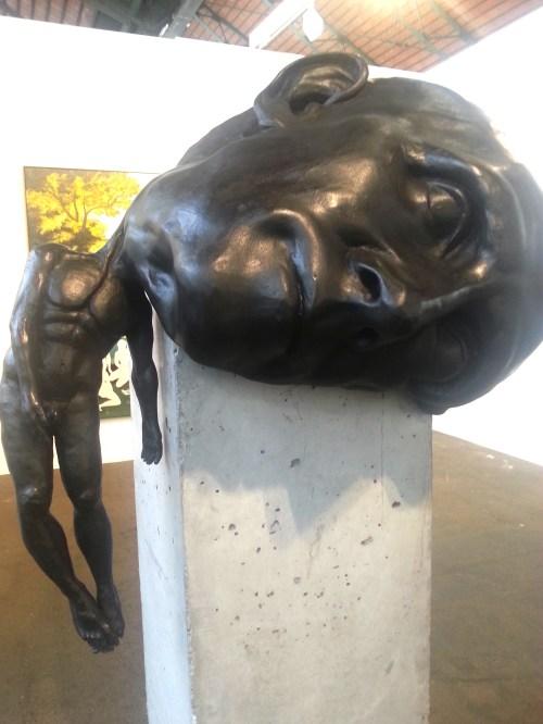 Thomas Lerooy, Crash 2009, bronzo, Galleria Rodolphe Janssen, Bruxelles