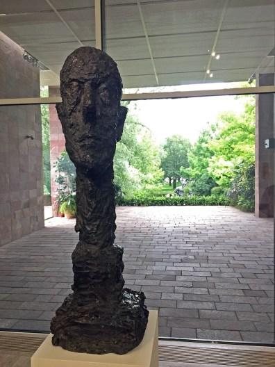 Alberto Giacometti, Bacon – Giacometti, Fondation Beyeler, Basilea 2018, ph Roberto Sala