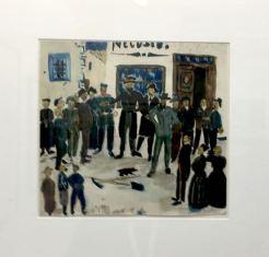 Alberto Giacometti, Galleria Artrust- Melano - paper position 2018