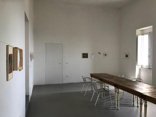 X[ics], exhibition view, la mostra trasferita nella casa diventa mostra permanente, 2018,courtesy Roccagloriosaresidenzadartista