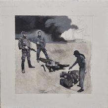 Orquín/Goya - los (nuevos) desastres de la guerra, serie di 7, 2018