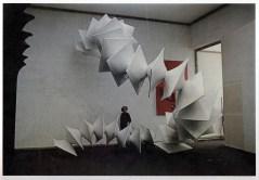 Agostino Bonalumi, Struttura modulare bianca, 1970, misure variabili,, (80x100x70 cm, 1 modulo), Vetroresina e nitro
