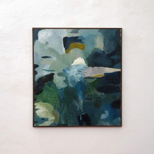 andraigíneacht (Androgyny) 2018. Oil on canvas, 81x73cm. Ph credit Colm MacAthlaoich