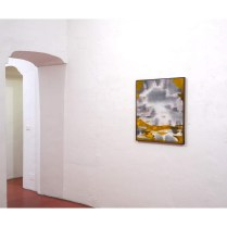 Scáth aoibhinn (sublime reflection), 2018. Oil on canvas, 81x73cm. Ph credit Colm MacAthlaoich