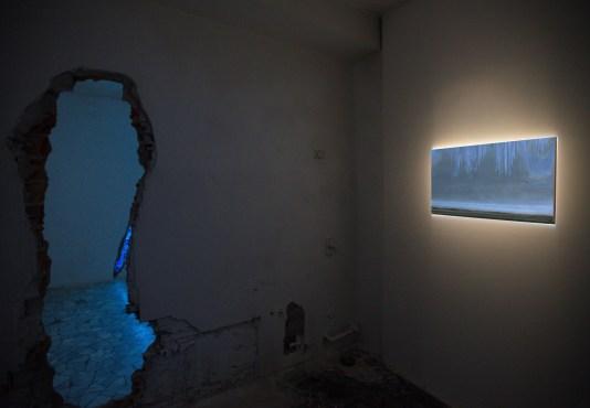 INVITATION TO A DISASTER. Matteo Montani, Piccolo paesaggio in cerca di grazia, courtesy Le Stazioni Contemporary Art