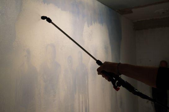 INVITATION TO A DISASTER. Matteo Montani Vanishing Painting, courtesy Le Stazioni Contemporary Art