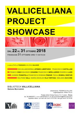 LOCANDINA - Vallicelliana-Project-Showcase