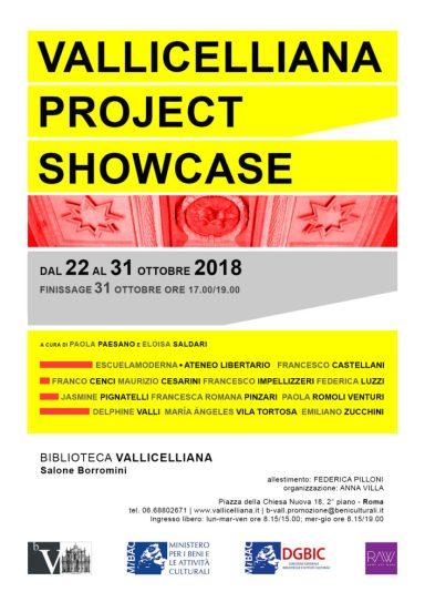 LOCANDINA - Vallicelliana-Project-Showcase