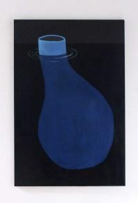 Antiforma, 2018. Acrilico e olio su tela. 150 cm x 100 cm 1-min
