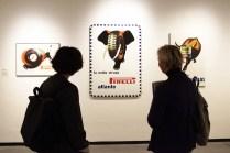 Testa con Mela, 1971, acrilico su tela, 100x100, Collezione Gemma De Angelis Testa, Musei Reali Torino 2019. Crediti fotografici Daniele Bottallo