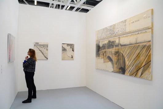 Christo, The Pont Neuf Wrapped, 1982. Tega, Milano