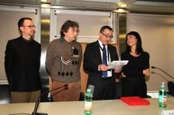 Premio ANGAMC, Simone Menegoi, Francesco Ribuffo, Mauro Stefanini, Elena Ribuffo