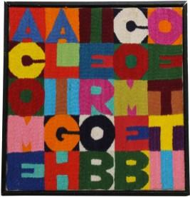 Alighiero Boetti, A come Alighiero B come Boetti, 1988