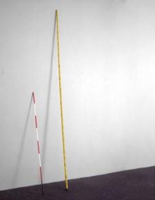 Alighiero Boetti, Asta di misurazione 1966 Triplo metro, 1966. Collezione privata