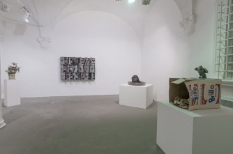 B&C Veduta della mostra, Galleria, Via S_Giustina 2015